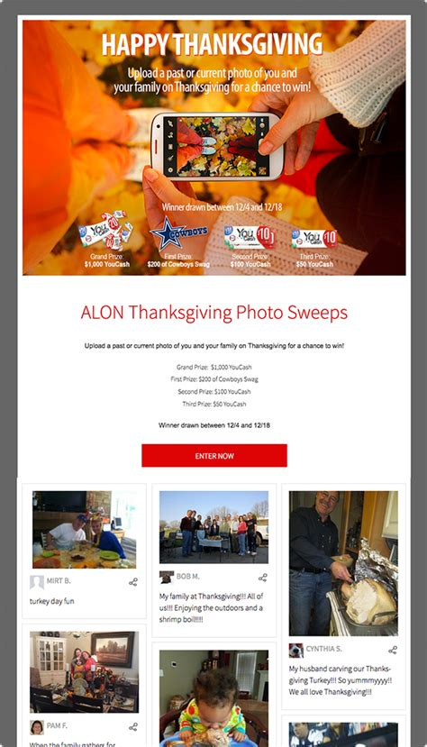promotional caign template thanksgiving giveaways 100 images thanks you gifts