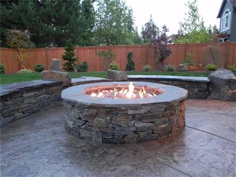 backyard gas pit this gas pit was designed with adults in mind it