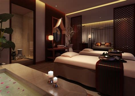 Masage Room by Spa Room Interior Design 3d 3d House Free 3d