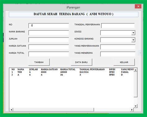 membuat form dengan vba di excel isi combobox sesuai data dalam sheet dengan excel macro