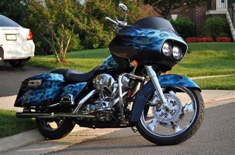 2005 harley davidson 174 custom blue ghost leesburg virginia 347822 chopperexchange