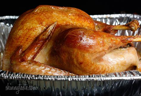 how to roast a brined turkey skinnytaste