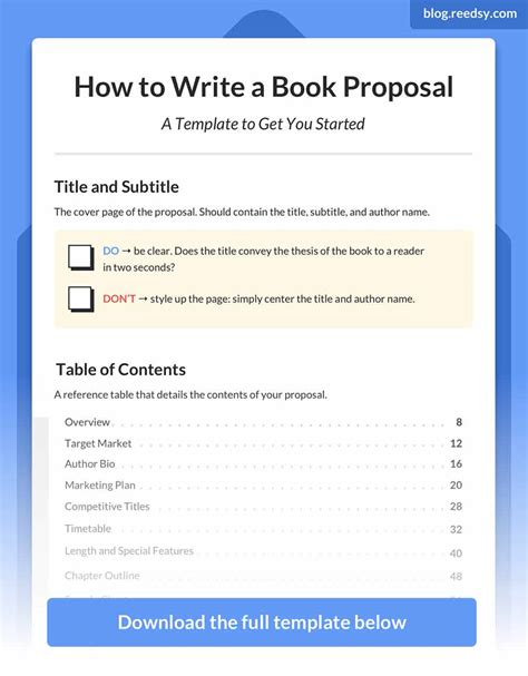 how to write a rfp template the complete guide to writing a book template