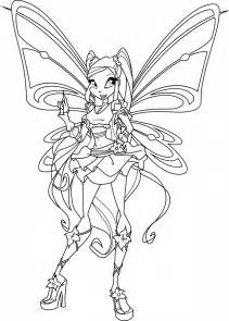 winx club coloring pages winx club enchantix coloring pages az coloring pages