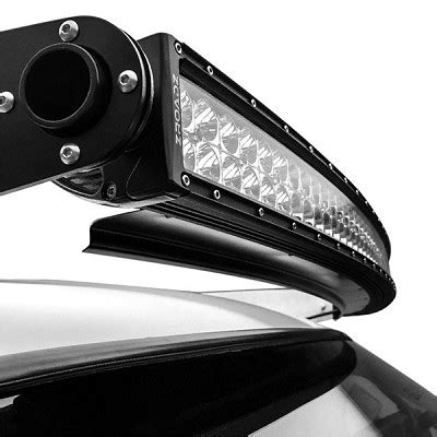 Mounting Led Light Bar On Roof Zroadz Front Roof Led Light Bar Mounting Kit Combo With A
