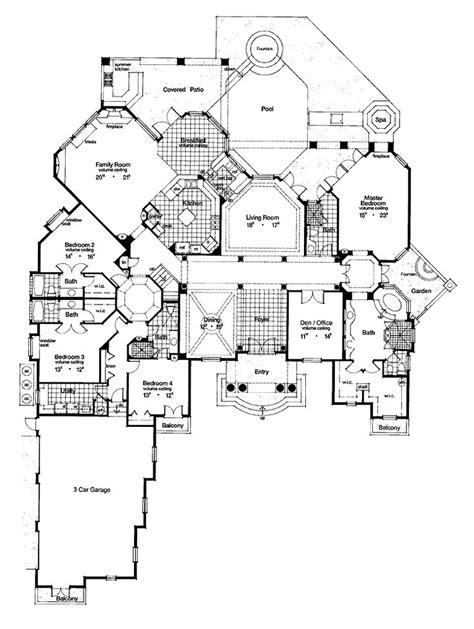 luxury dream house plans best 25 mediterranean homes plans ideas on pinterest