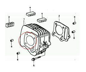 Boring Thunder 125 Blok Seher Block Cylinder custom modifications bore up honda 100cc legenda motorcycle