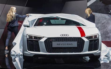 audi rear wheel drive 2018 audi r8 v10 rws rear wheel drive