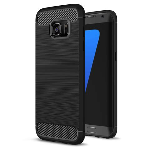 Samsung Galaxy S7 Edge Armor Soft Cover Casing Sarung Bumper Tpu soft tpu silicon for samsung galaxy s7 s7 edge luxury hybrid tpu armor for samsung