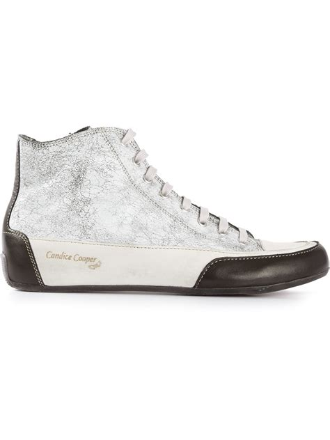paint sneakers lyst candice cooper racked paint sneakers in white