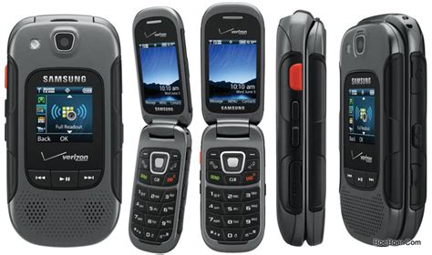 samsung convoy 3 sch u680 rugged mil spec flip phone for verizon gray fair condition used