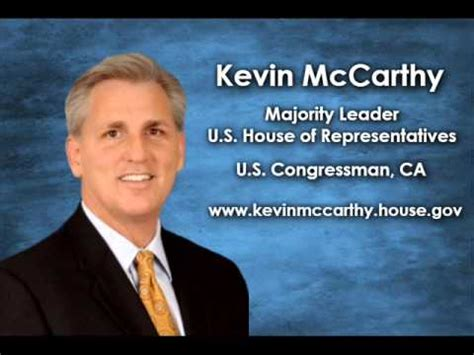 Majority Leader House by With Kevin Mccarthy Majority Leader Of The
