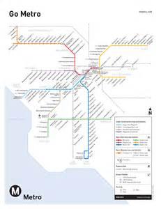 La Metro Map by Metro Los Angeles Map