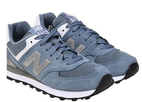 sneakers casual shoes athletic shoes eastbay new balance running shoes wl574sbg blue fashion