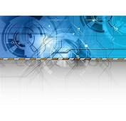 Tech Background In The Blue Color  Stock Vector Colourbox
