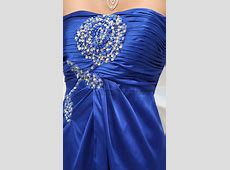 Royal Blue Strapless Prom Dress Evening Formal Gown ... Jennifer Lopez Wedding Dresses