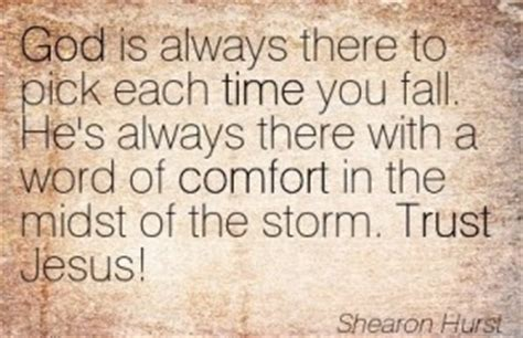 trust in the god of all comfort trust in god storm quotes quotesgram