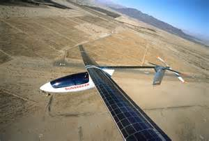 Electric Car Airplane Next Of Electric Transport Solar Electric Aircraft
