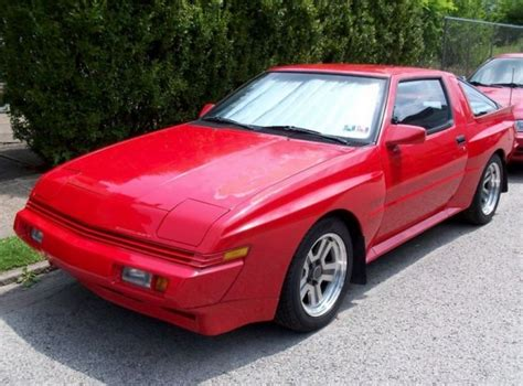 1987 Chrysler Conquest Tsi by Sorted 1987 Chrysler Conquest Tsi Bring A Trailer