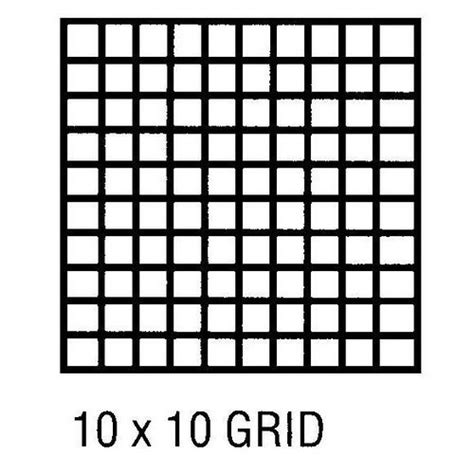 Printable Graph Paper 10 By 10 | 4 best images of 10 by 10 grids printable blank 100
