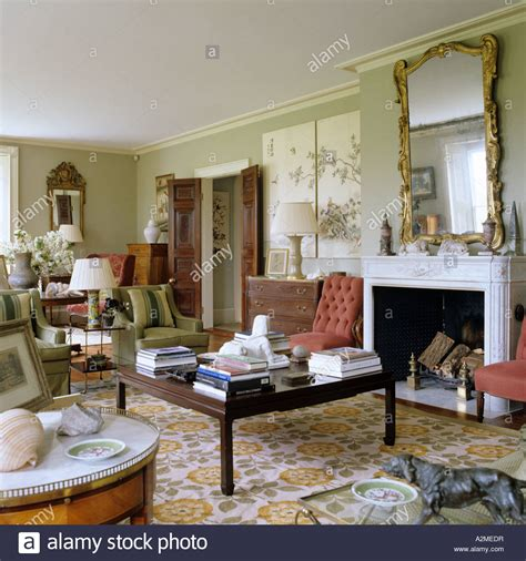 englisches wohnzimmer living room of country house dating from 1820s