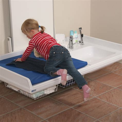 height of baby changing table height adjustable baby changing table 334 141 height