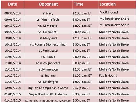 printable schedule ohio state football 2015 osu football schedule 2015 calendar template 2016