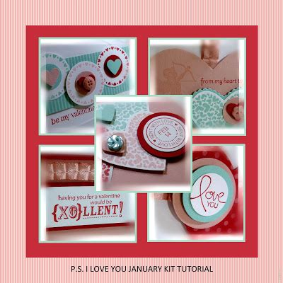 html kit tutorial video me my sts and i p s i love you january kit tutorial 2012