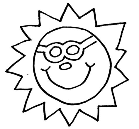 Free Coloring Pages To Print Quot Sun Sun Colouring Page