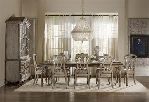 hooker dining room furniture hooker furniture chatelet formal dining room group