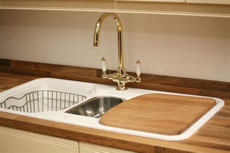 Cutting Countertop For Kitchen Sink by Kitchen Sink With Butcher Block Countertop And Cutting Board
