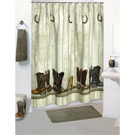 western bathroom shower curtains shower curtains products shower curtains saddle