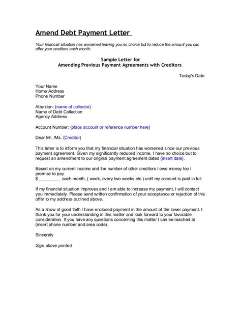 Credit Report Correction Letter Template Debt Collection Manager Cover Letter