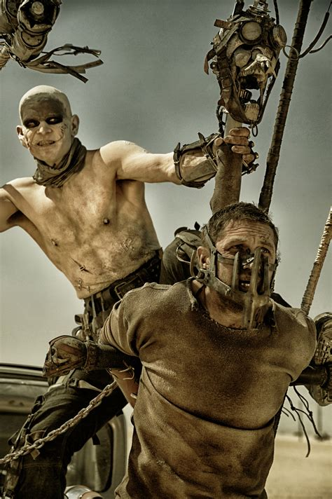 mad max 40 new mad max fury road pictures feature tom hardy collider