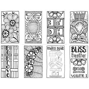 coloring pages bliss color chart bliss breather free mini coloring book volume 1