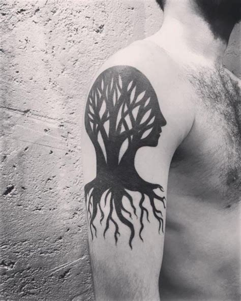 tree shoulder tattoo 51 classic tree tattoos for shoulder