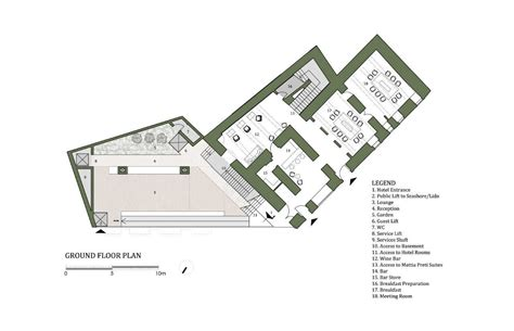 Large House Floor Plans by Gallery Of 40 Room Boutique Hotel Chris Briffa