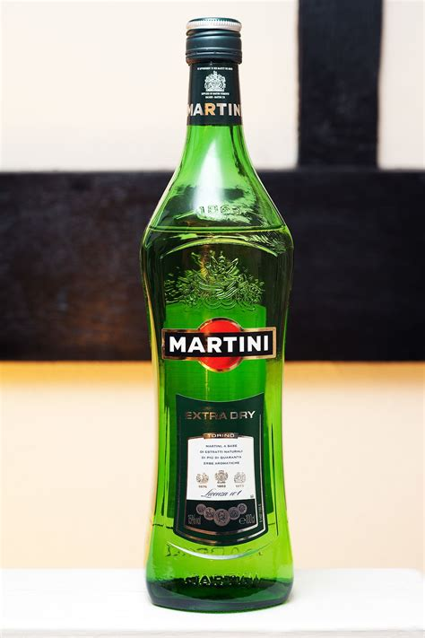 martini bottle list of martini variations