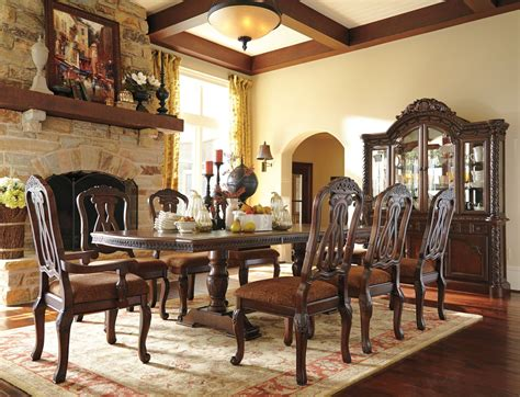 ashley dining room north shore china buffet ashley furniture d553 81