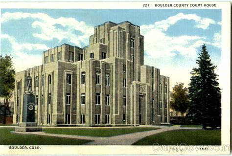 Boulder County Court Records Boulder County Court House