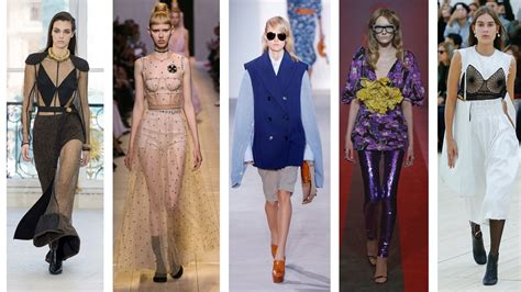 summer 2017 trends 5 key trends from the spring summer 2017 you need to know