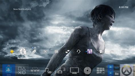 ps4 horror themes new resident evil 7 ps4 dynamic themes are on their way