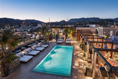 the highlight room making a splash hollywood hotel pools make summer wet and