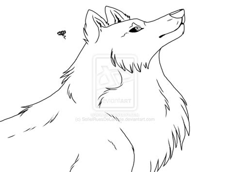 wolf coloring pages cartoon page animal jr