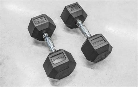 Dumbbell Set rogue dumbbell sets rubber hex weight rogue