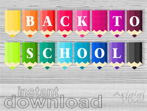 printable welcome banner for classroom back to school classroom banners printable banners