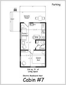 Floor Plans Cabins by Archer S Poudre River Resort Cabin 7