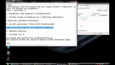 xp tutorial video tutorial windows xp jak usunąć okno o legalności