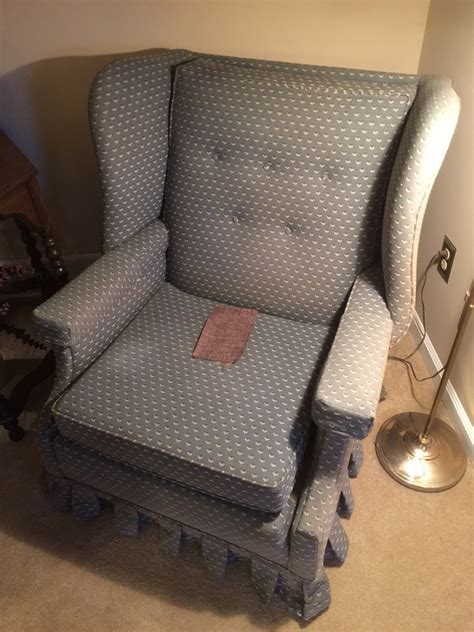 price for upholstery cost to re upholster a wing chair