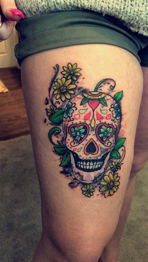 tatouage t 234 te de mort mexicaine signification tendances
